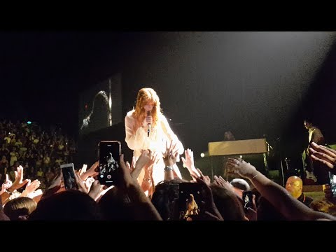 'Moderation' (NEW SONG) - Florence + The Machine LIVE | Auckland, New Zealand 2019 - Dirvinator