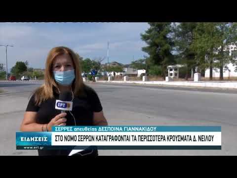 Στον νομό Σερρών καταγράφονται τα περισσότερα κρούσματα του δυτικού Νείλου | 23/9/2020 | ΕΡΤ