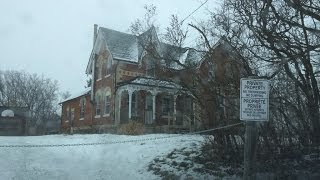 Exploring an Abandoned 1870 Victorian House North Durham