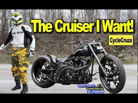 The Cruiser Motorcycle I WANT! (BADASS!)   MotoVlog