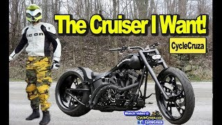 The Cruiser Motorcycle I WANT! (BADASS!) | MotoVlog