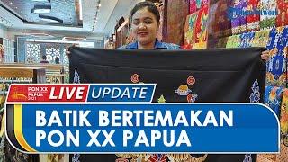 PON PAPUA: Dukung PON XX, Aneka Batik Papua Eksklusif Luncurkan Koleksi Batik Khusus PON