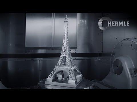 Hermle Bearbeitungszentrum C 42 U Eiffelturm
