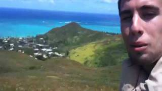 preview picture of video 'Pillbox Hike/Kaiwa Ridge Trail - O'ahu Hawai'i near Kailua/Honolulu'