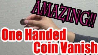 Coin Vanish Trick Revealedamazing One Handed Coin VanishUHM