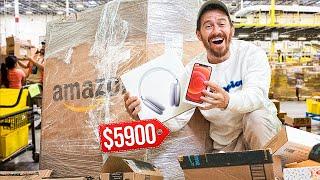 Our BEST Amazon Return Pallet FIND Yet!! (iPhone XR + Samsung)