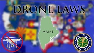 Where Can I Fly in Maine? - Every Drone Law 2019 - Portland, Bangor, Augusta (Episode 19)