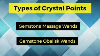 Crystal Points Online - Rozrin Crystals