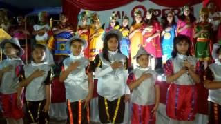 Noche de fiesta nacional se vivió en nuestra querida Institución Educativa.