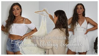 My Bohemian Clothing Essentials | A Look At My Wardrobe