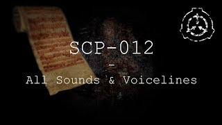 SCP-012 | All Sounds & Voicelines with Subtitles | SCP - Containment Breach (v1.3.11)
