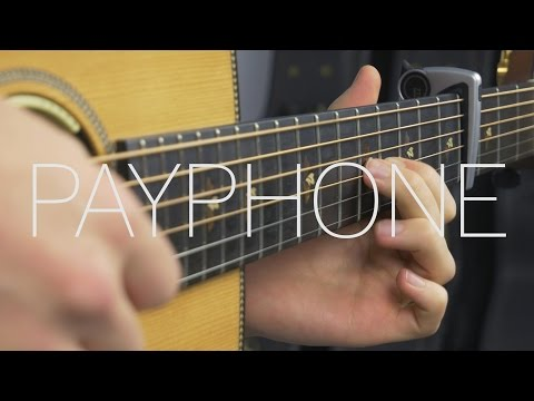 Maroon 5 - Payphone - Fingerstyle Guitar Cover By James Bartholomew Mp3