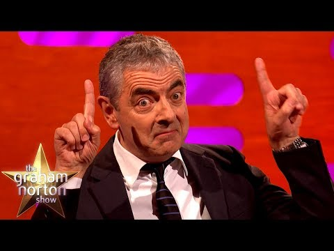 Rowan Atkinson je podobný Mr. Beanovi - The Graham Norton Show