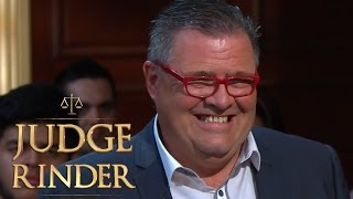 Dene Michael From Black Lace Talks About Singing Agadoo | Judge Rinder
