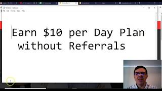 Earn $10 per day without Referrals Online