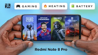 Xiaomi Redmi Note 8 Pro Gaming Review + Call of Duty & PUBG, Heating & Battery Test!