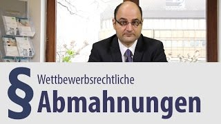 preview picture of video 'Wettbewerbsrecht | Abmahnung | Heidelberg | Rechtsanwalt'
