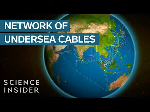 Undersea Cables Run The Cloud