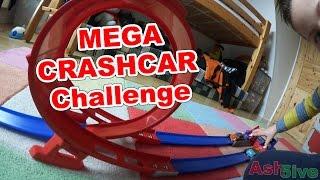 Mega Crashcar Challenge | HEFTIGER UNFALL | Ash5ive