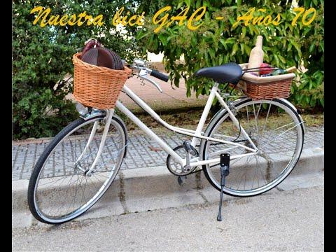 Bicicleta antigua GAC años 70