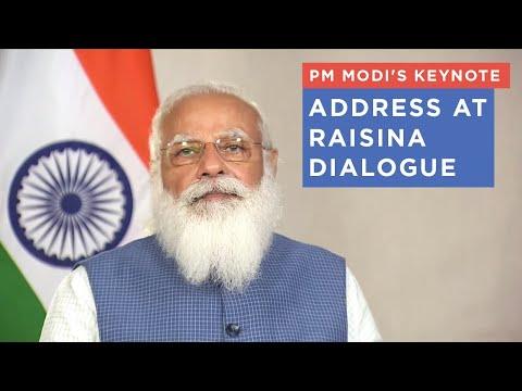 PM Modi's keynote address at Raisina Dialogue