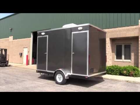 ADA Portable Restrooms | Double ADA Direct to Sewer