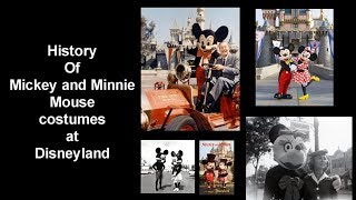 History Of Mickey And Minnie Mouse Costumes At Disneyland