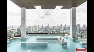Vittorio | Two Bedroom Corner Condo for Rent with Panoramic Views of the City in Phrom Phong