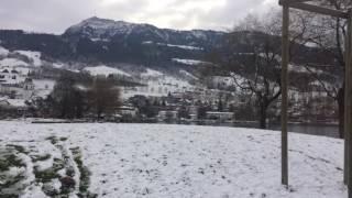 スイス発 リギ山麓町の雪景色【スイス情報.com】