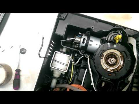 how to disassemble and clean the coffee dispenser of saeco minuto