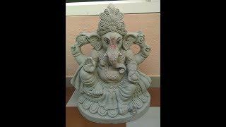 How To Make Ganesha Idol With Mud / Clay - Eco-friendly, Easiest, Fastest & Effective Way