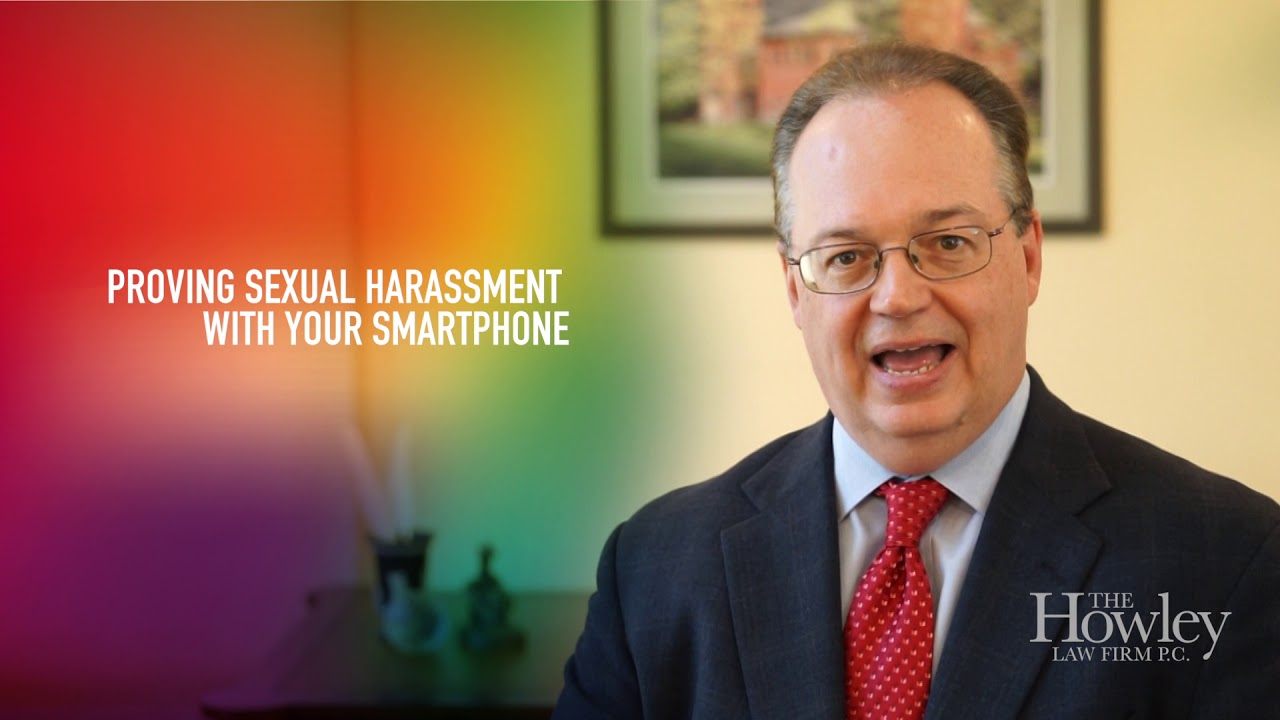 How Can I Prove Sexual Harassment with My Smart Phone?
