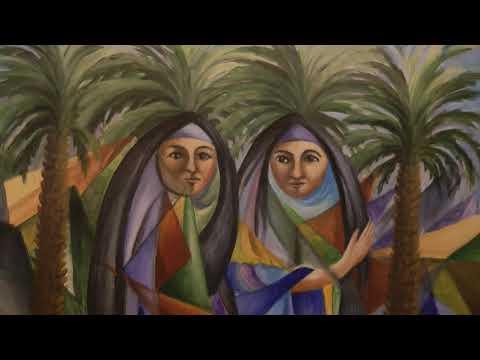 Interkulturelle Kunstausstellung in der historischen Kirche