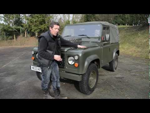 Military Land Rover Defender From Rugged Guide Play