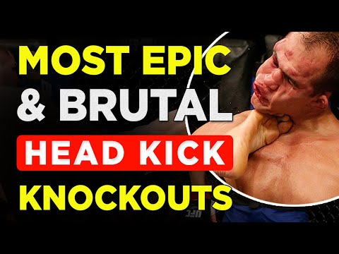 Best MMA Head Kick Knockouts In History | Greatest Knockouts Of All Time | (Part 1)