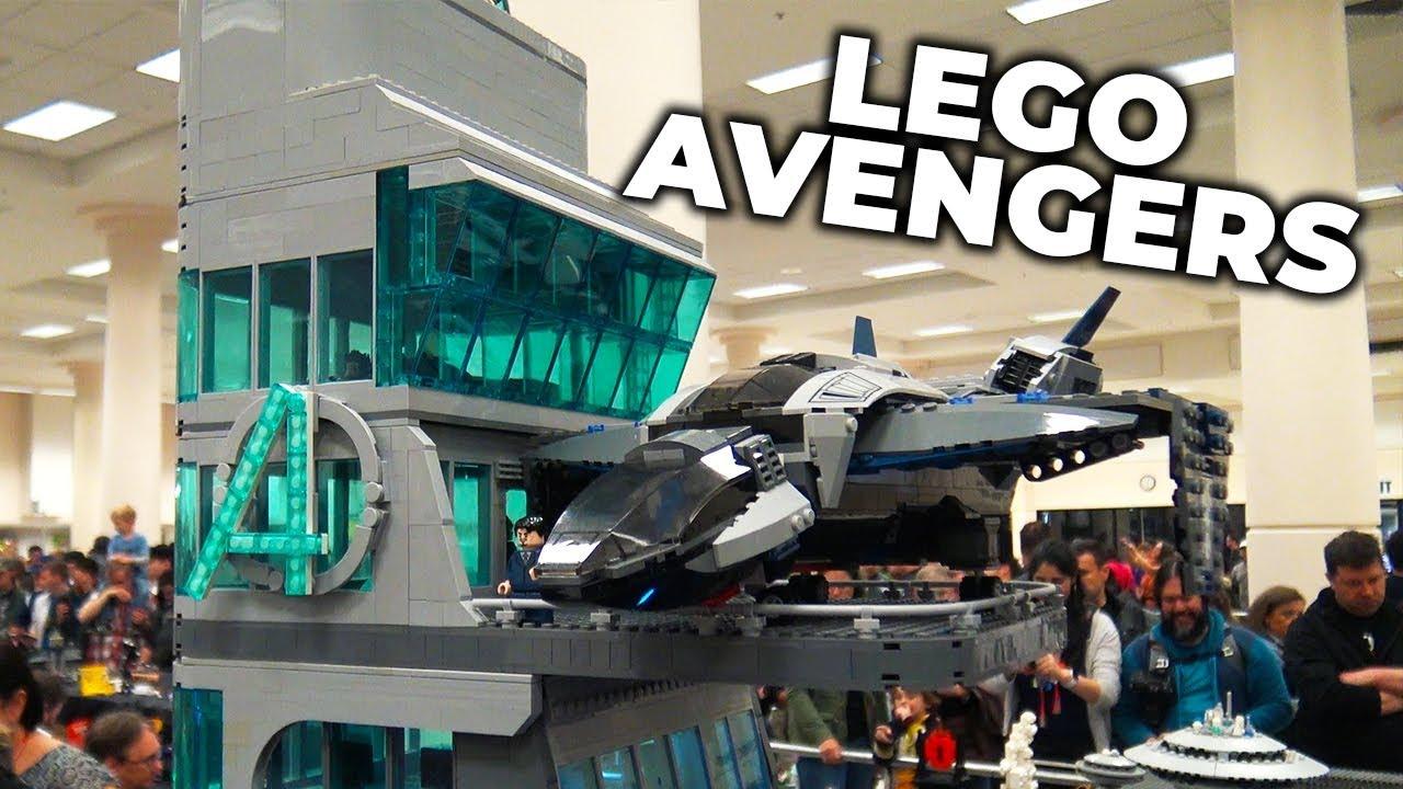 Giant LEGO Avengers Tower – 5 Feet Tall!