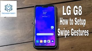 LG G8 Swipe Gestures and Home Button Setup