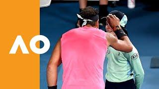Kiss and Make Up: Rafa Apologises to Ball Girl Like a Gentleman | Australian Open 2020