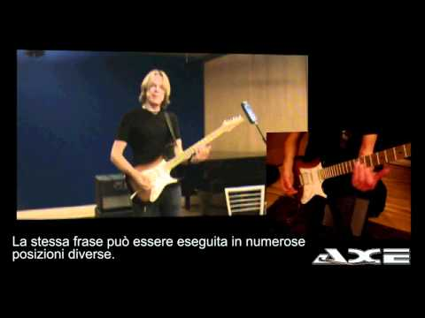 Andy Timmons, video per axe