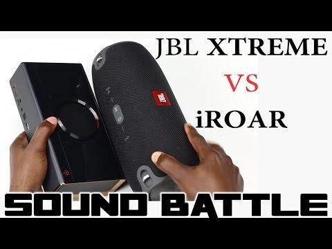 SOUND BATTLE: JBL Xtreme vs Creative iRoar -the real sound comparison