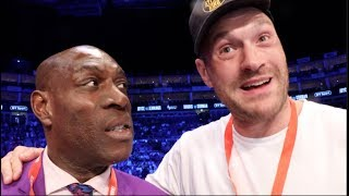 'YOU WILL SCHOOL WILDER' - TYSON FURY IS TOLD BY FRANK BRUNO, & SAYS HE 'WILL KNOCK HIM SPARK OUT'