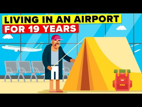 The Man Who Was Stuck in an Airport for 19 Years