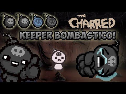 NUEVO PERSONAJE SUPER EXPLOSIVO! CHARRED (su vida son bombas) AFTERBIRTH + MOD
