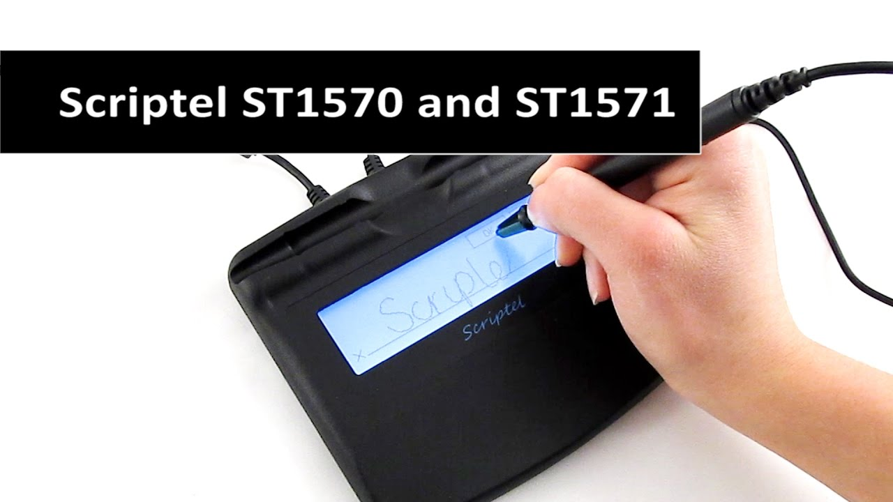 Scriptel ScripTouch Slimline LCD 1x5 USB ST1570 and ST1571