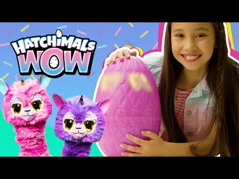 Интерактивное яйцо с домашним животным Hatchimals Hatchi WOW