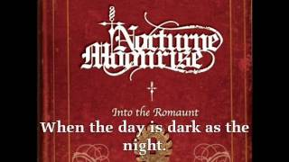 Nocturne Moonrise - Faded Memory (Lyrics)