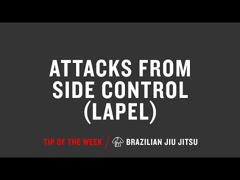 Attacks From Side Control Lapel
