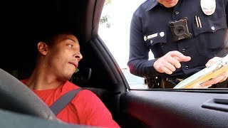 PULLED OVER DRIVING A DODGE DEMON! *MY LAWYER DIDN'T WANT ME TO POST THIS*