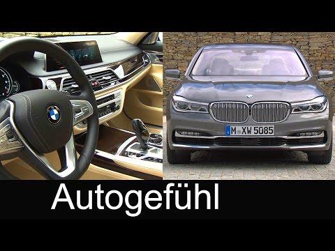 All-new BMW 7 Series feature BMW 750Li xDrive 740 Le 730d Exterior Interior Technology 7er