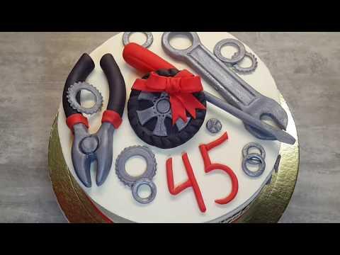 Как приготовить торт для слесаря